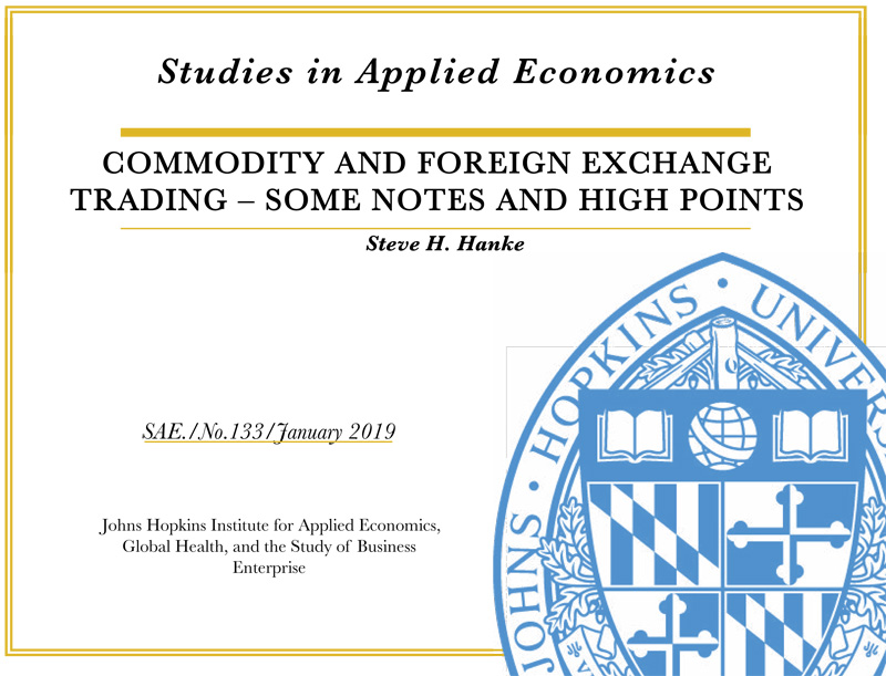 Commodity And Foreign Exchange Trading