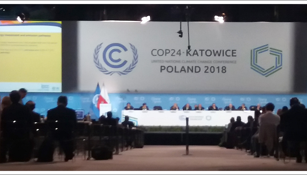 UN Climate Conference 2018 in Katowice, Poland